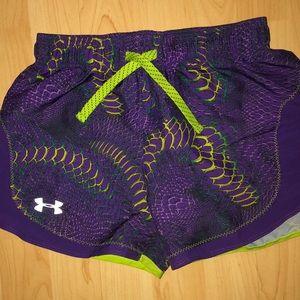 Under Armour girls shorts